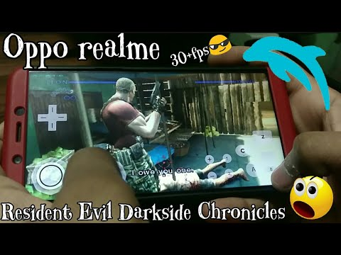 Resident Evil : The Darkside Chronicles (Android dolphin) on