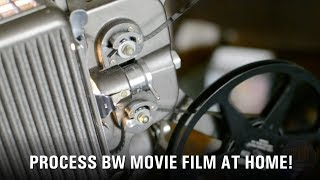 Develop BW Reversal Film & Movie Film At Home