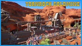 Tornrock Gold Mine! Coaster Spotlight 374 #PlanetCoaster