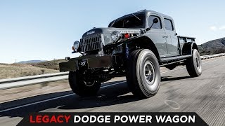 LEGACY CLASSIC TRUCKS DODGE POWER WAGON   TOYO TIRES [4K60]