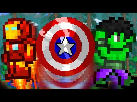 What if The Avengers were in Terraria?!