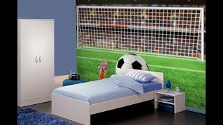 Football Themed Kids Bedrooms
