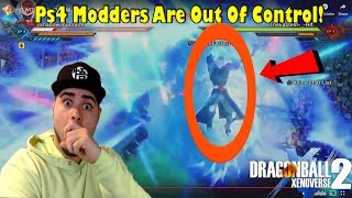 OMG HIT WITH MARBLE DROP!? Xenoverse 2 PS4 Modders Are OUT OF CONTROL!