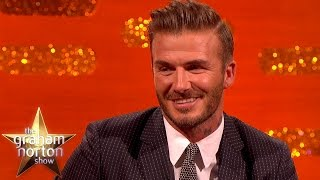 David Beckham On Instagram Rivalry With Brooklyn - The Graham Norton Show