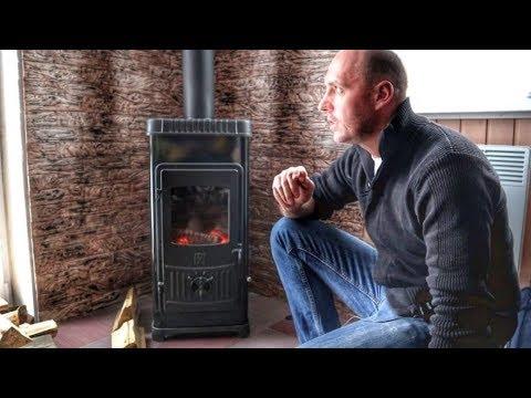 Plamen Dora 8 — недорогая печь  для отопления частного дома