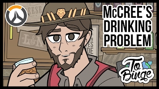 McCree's Drinking Problem: An Overwatch Cartoon