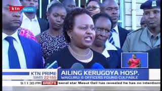 Governor Waiguru blames ailing state of Kerugoya Hospital on sabotage