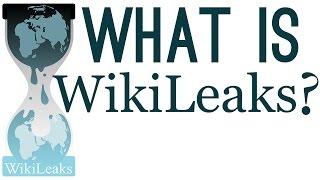 What is WikiLeaks?