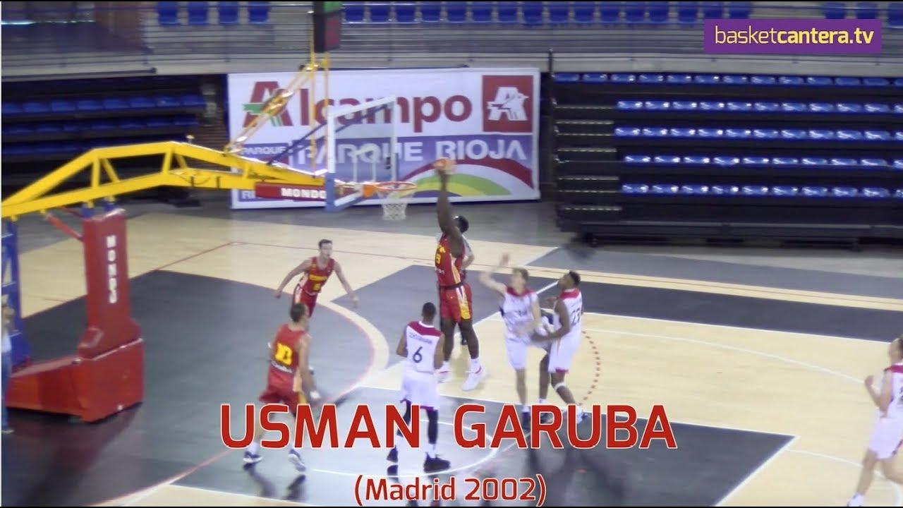 USMAN GARUBA (´02) - 2.02 m. Selec. U18-España Torneo Junior La Rioja (jugador Real Madrid)