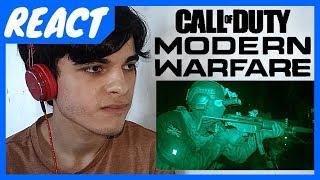REACT || Official Call of Duty®: Modern Warfare® - Reveal Trailer