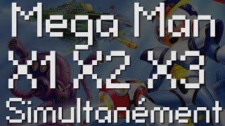 Bonus Speed Game:TAS Mega Man X, X2, X3 Avec Un Seul Controlleur !
