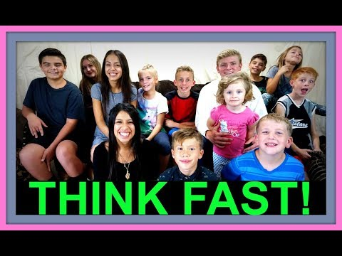 THINK FAST! | ONE TAKE SUNDAY! | FAMILY VLOGS!