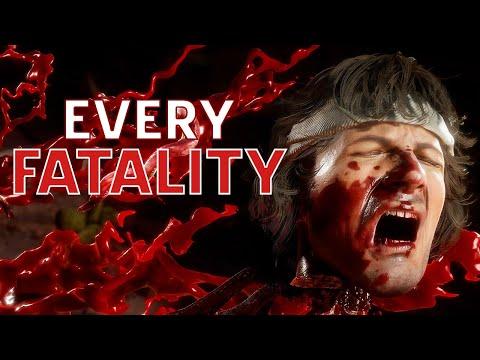 Every Fatality in Mortal Kombat 11 Ultimate in 4K