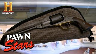 Pawn Stars: LOW APPRAISAL FOR CIVIL WAR NAVY PISTOL (Season 11) | History