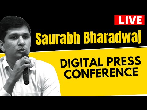 Live | AAP Senior Leader Saurabh Bharadwaj addressing an Important Press Conference