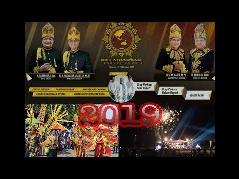 SUPER MERIAH, ACARA ULANG TAHUN KAB BIREUEN KE-20, _ thn 2019, di hadiri nisa subyan & karnaval