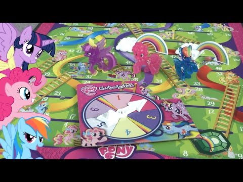 My Little Pony Chutes And Ladders From Hasbro