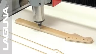 Creating a Guitar Neck: Swift CNC Router by LAGUNA