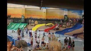 Tour of Kalahari Resorts Water Park & Water Slides Poconos, PA