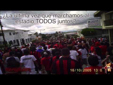 """""""¡Seamos 1! - Con la Gloriosa #12"""" Barra: La 12 • Club: Alajuelense"""