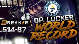 BF4: 514-67 LOCKER ULTIMATE RECORD - Operation locker gameplay - Twitch highlight