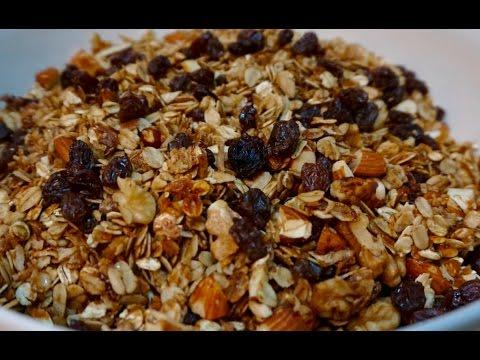 Granola Casera Deliciosa y Saludable