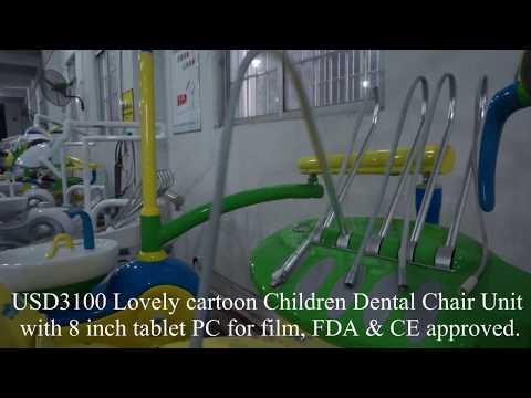 Cartoon Children Dental Chair
