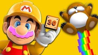 RAGING RAINBOW!! | Mario Maker #30