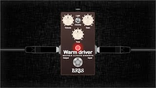 BRBS Warm Driver Video Demo