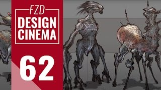 Design Cinema – EP 62 - Real-Time Creature Design