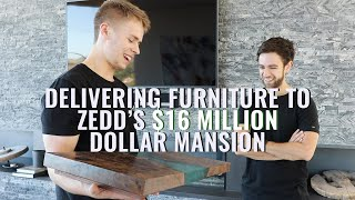 Installing a Table in a Famous Celebrity's 16 Million Dollar Mansion