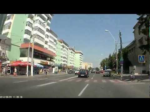 Через город Роман. Румыния