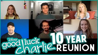 Good Luck Charlie cast reunion after 10 years!