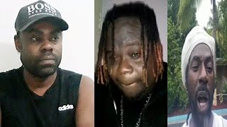Buju Banton daughter disagree with him against wearing mask, Man worried about his mother at Spanish