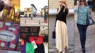 Moscow Shopping Vlog *аутлеты , скидки ,примерка, покупки одежды *