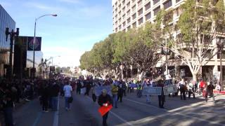 Occupy the Rose Parade. Jan 2 2012 Full March