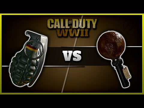 Frag vs Sticky Grenade! | CoD WW2 Lethal Stats & Comparison! (Best Lethal)