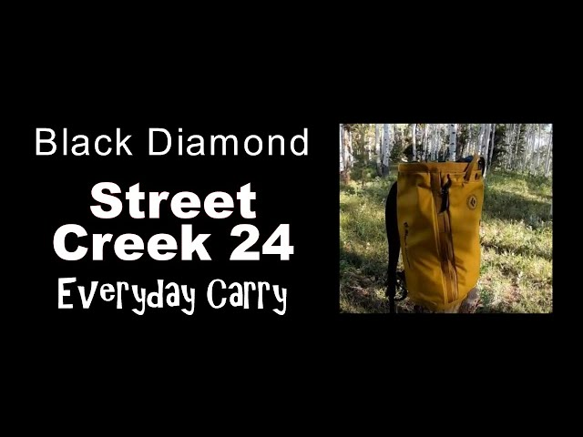 Видео Рюкзак Black Diamond Street Creek 24L (Storm Blue)