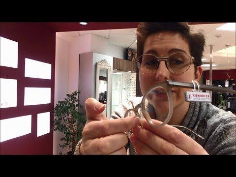Kunststoffbrille rutscht