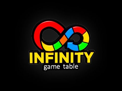 Infinity Game Table, la mesa café que es una consola de juegos de tablero digitales