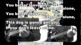 "BEATLES ""LEAVE MY KITTEN ALONE"" COVER"