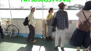 大阪の穴場スポット大正区落合下渡船第209回「西川小のりと百田達人のぼちぼちICOCA~!」