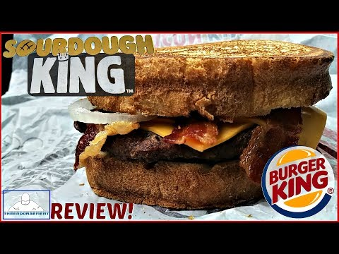 Burger King® | Sourdough King™ Review! 🍔👑🍞