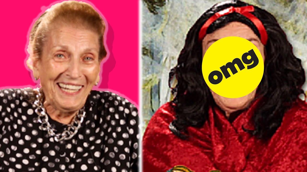 Grandmas Get Disney Princess Makeovers thumbnail
