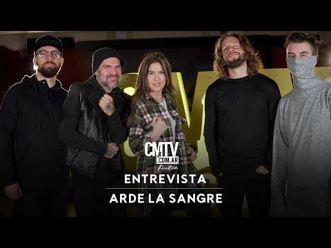 Arde La Sangre video Entrevista Arde La Sangre (CMTV Acústicos - Contenido Extra) - 2021