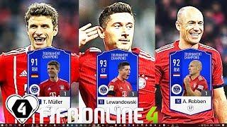 FIFA ONLINE 4: BUILD & TEST DÀN TEAM Bayern Munich TC 2019 Vs Lewandowski TC & Muller TC