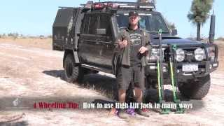 High Lift Jack Recovery, off-road recovery