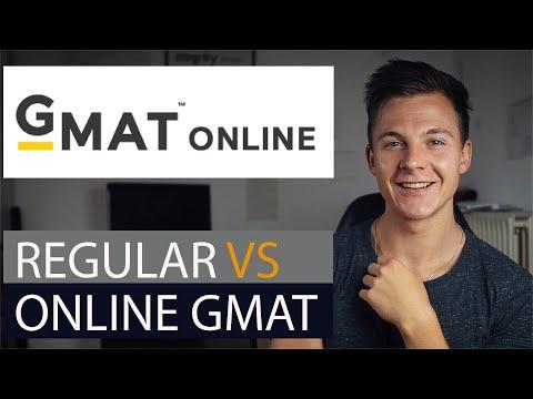 Online GMAT vs Regular GMAT - Differences & Pros/Cons