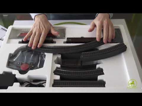 Unboxing dello starter set digitale in scala H0 della Märklin