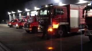 preview picture of video 'Feuerwehr Gross-Gerau konvoi nach neues Feuerwehrstützpunkt'